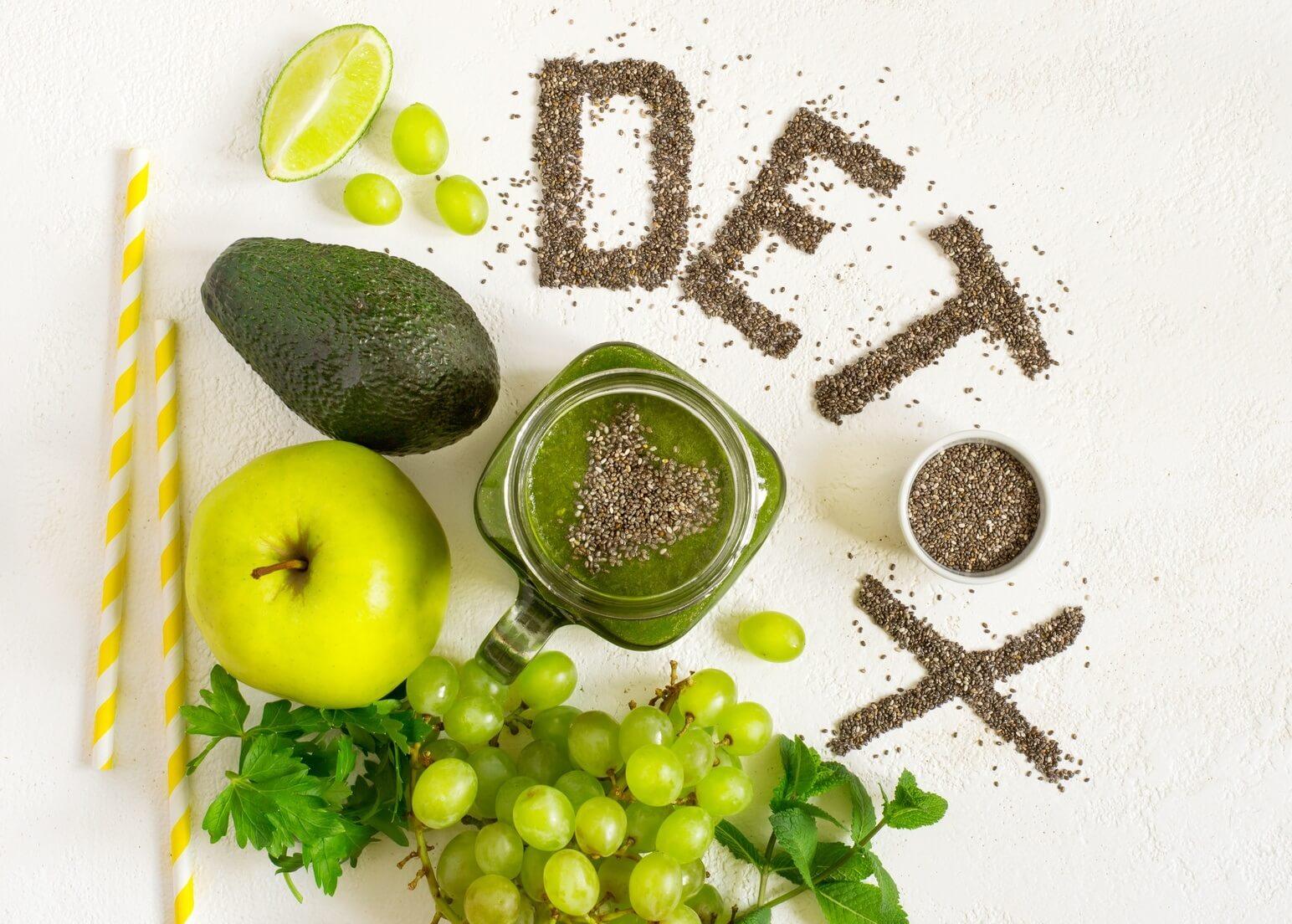Dieta detox, come tornare in splendida forma in 7 giorni